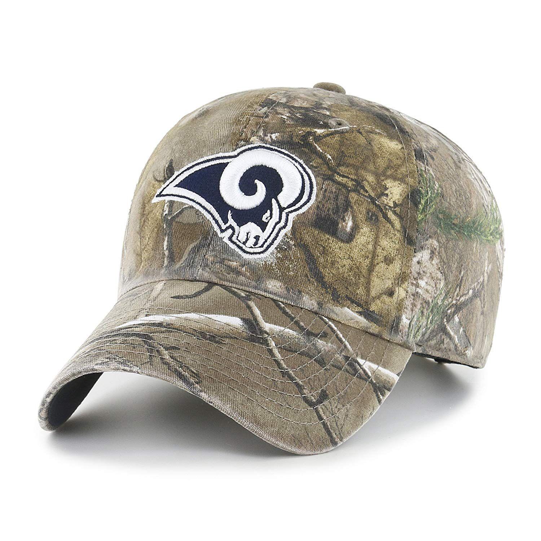 22.30 NFL Los Angeles Rams OTS Challenger Adjustable Hat 780fb4026