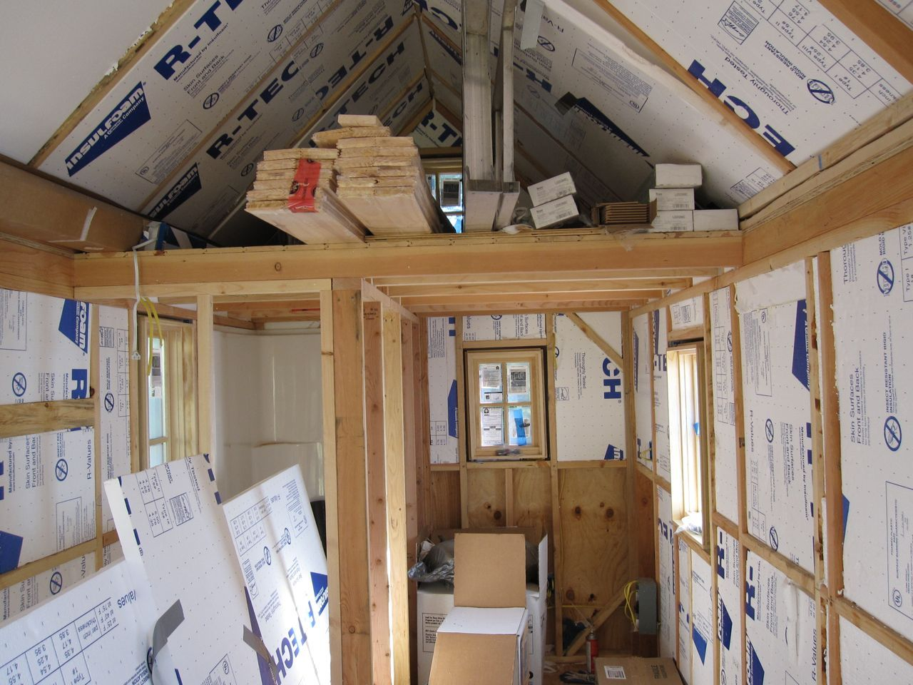 inside tiny houses tiny house blog archive fencl update 4 - Tumbleweed Tiny House Interior
