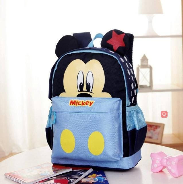 4e34ac1ba00 New Cartoon Mickey children backpacks Minnie kids kindergarten backpack  school bags Boys Girls Satchel Free Shipping