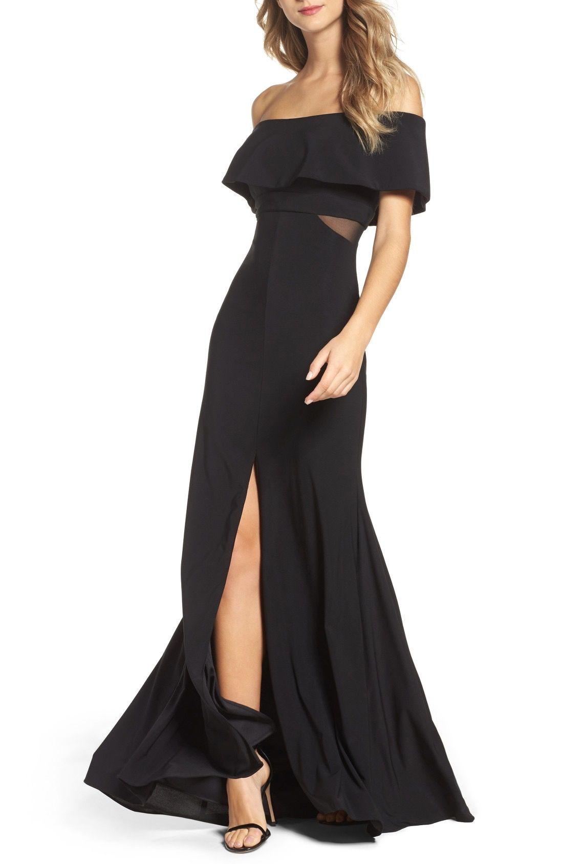 abd704c3e6c Xscape Jersey Popover Gown available at #Nordstrom | beautiful dress ...