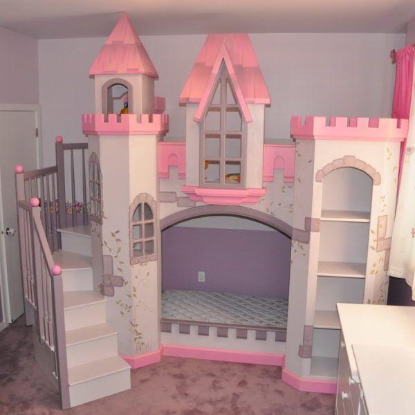 anatolian castle bunk bed - Hausgemachte Etagenbetten Mit Rutsche
