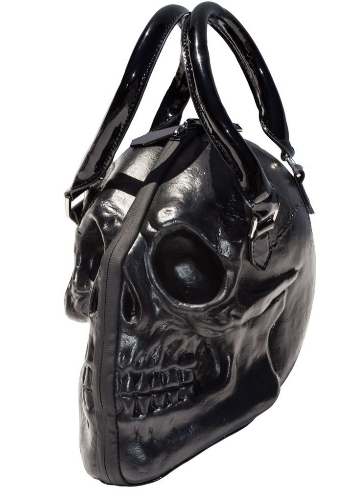 Kreepsville 666 Skull Collection Purse