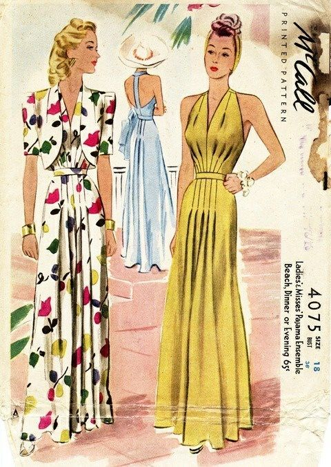 40\'s McCalls | Styles I would bring back with a twist | Pinterest ...
