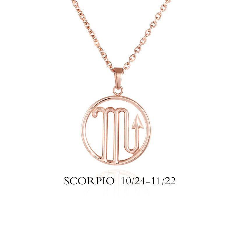Scorpio Sign Necklace