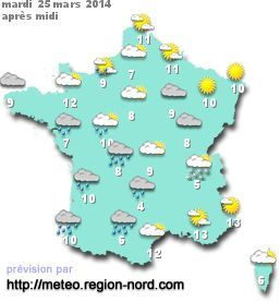 prevision meteo | FLE: Cartes de France | Pinterest | French lessons