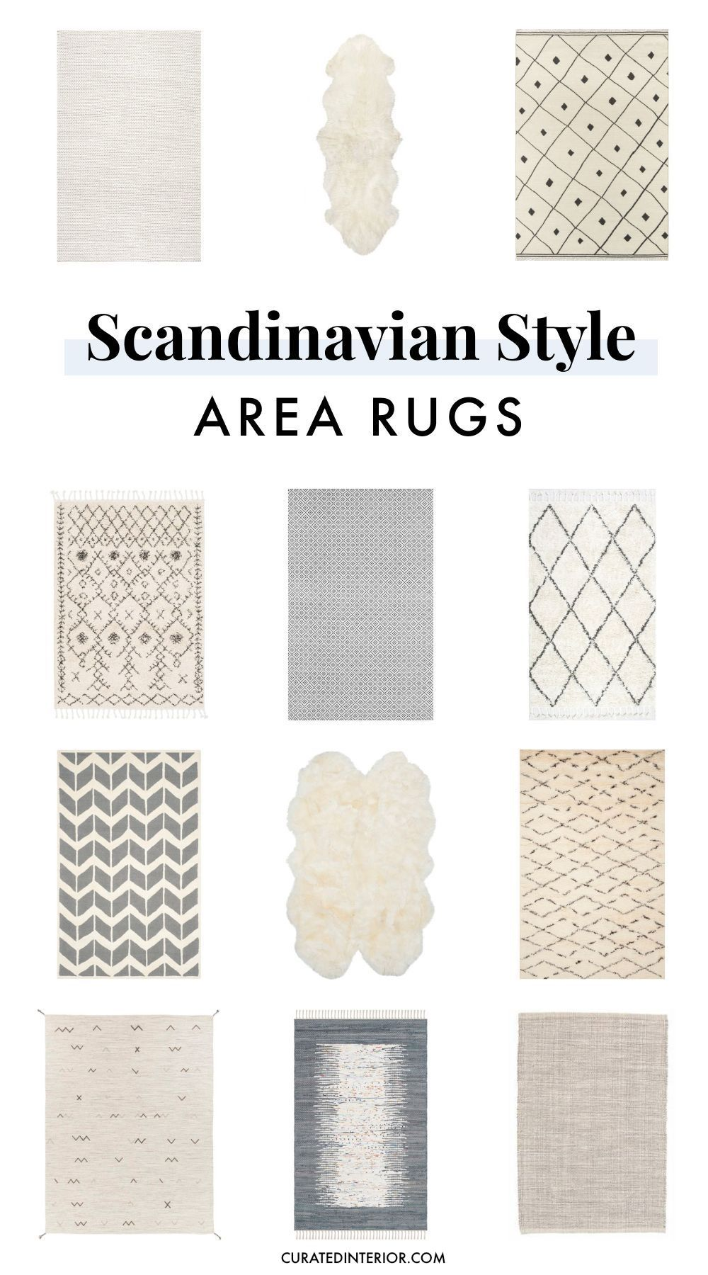 12 Scandinavian Rugs For The Perfect Nordic Look Scandinavian Rug Scandinavian Home Interiors Scandi Decor