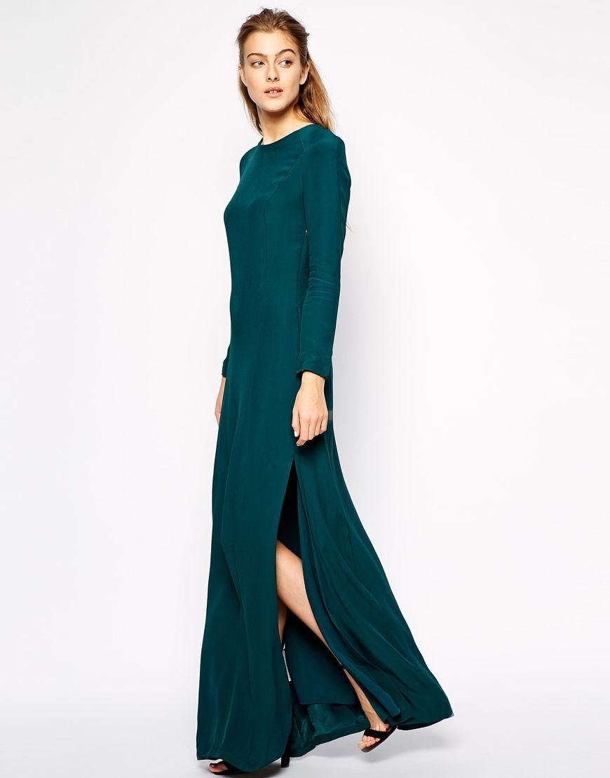 Image 2 of Mango Backless Maxi Dress | Bridesmaid dresses ...
