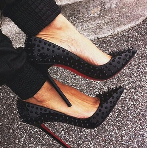 christian louboutin black tumblr