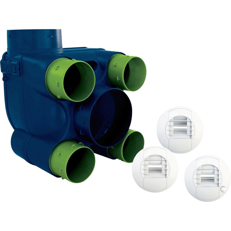 Kit Vmc Simple Flux Hygroreglable S P Basse Conso 2 Vmc Simple Flux Ventilation Mecanique Et Kit