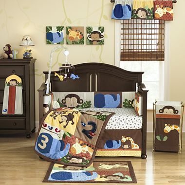 Kids Line™ Jungle 1, 2, 3 Bedding and Accessories ...