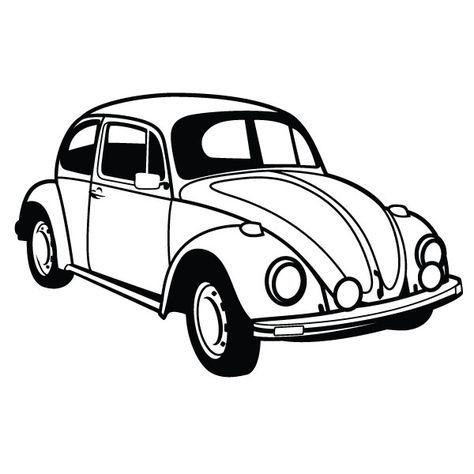 Vw Beetle Car Vector By Vectorportal Deviantart Com On Deviantart Car Vector Volkswagen Beetle Car
