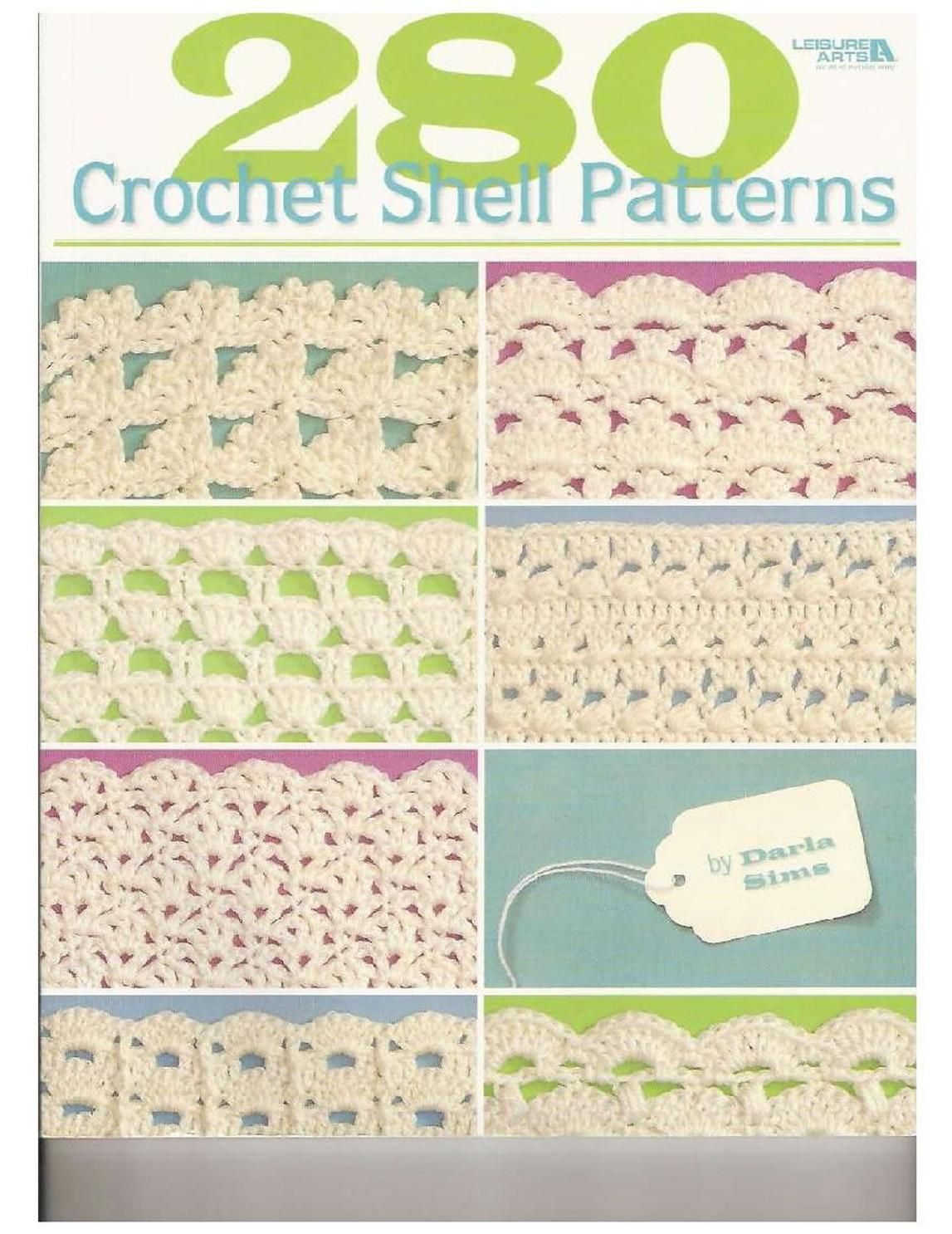 ISSUU - 280 crochet shell pattern by hopesol...FREE BOOK AND WRITTEN ...