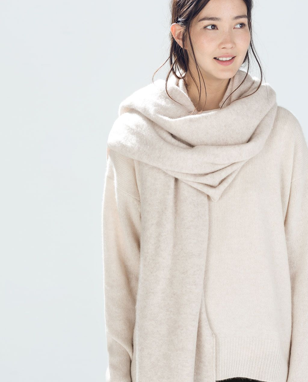 11a48f366c6 SPECIAL EDITION CASHMERE SCARF from Zara