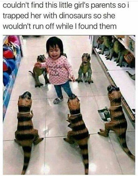 Not Sure This Was The Best Way To Handle The Situation But I Applaud The Creativity Via Creepypasta Funny Baby Memes Kid Memes Funny Kids