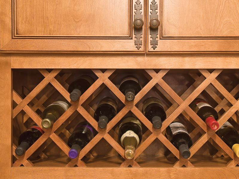 Wine Wall Combo Lattice Style Kitchen Cabinet Wine Rack Built In Wine Rack Diy Wine Rack
