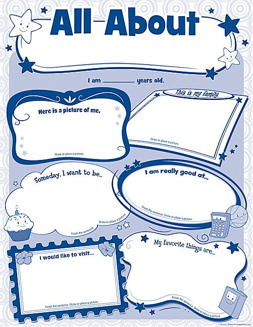 3a673e3bd4255c86e4173f580cebba1f - All About Me Poster Kindergarten