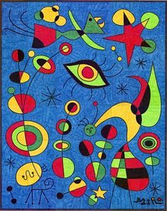 Joan Miro Famous Paintings \x3cb\x3ejoan miró\x3c/b\x3e on ...
