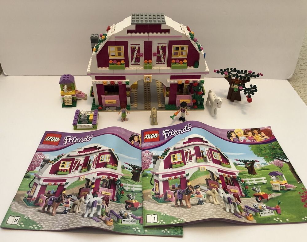 Details About Lego Friends Sunshine Ranch 41039 Complete Iheart