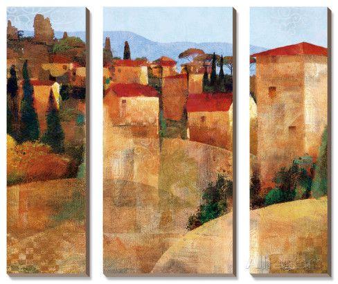 Toskanische Hügellandschaft Kunstdrucke von Keith Mallett bei AllPosters.de