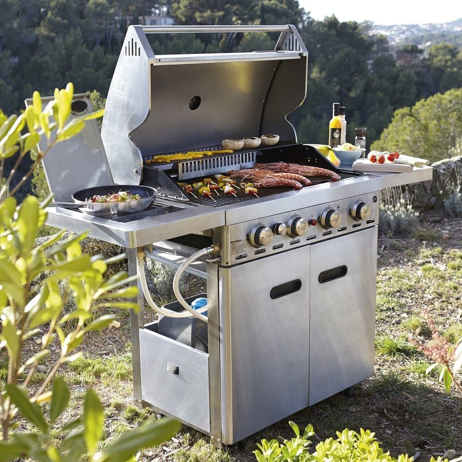 Barbecue au gaz naterial florida black friday barbecue for Barbecue a gaz leroy merlin