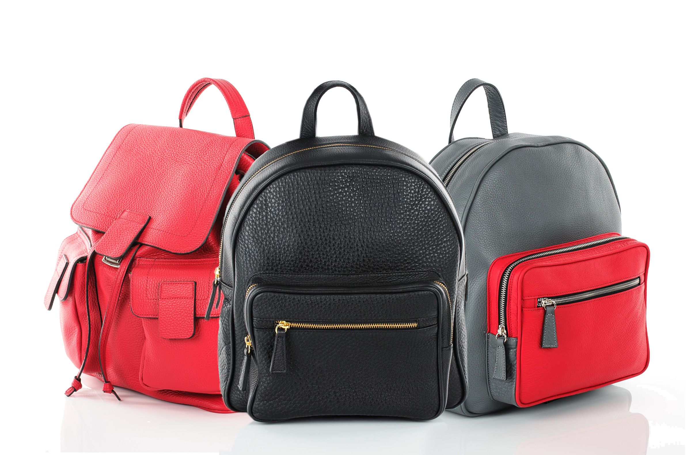 Youthful and relaxed, the backback is yet again part of this year's trends. Anka and Melisa backpacks by Millisimo.