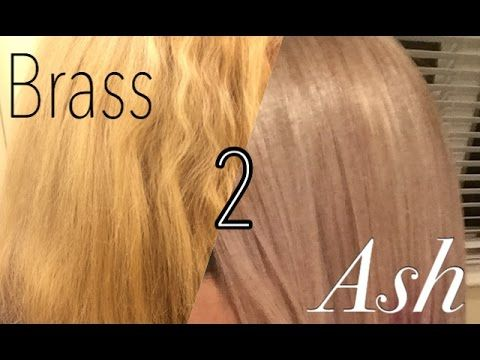 Diy Toning Bleached Blonde Hair From Brassy To Platinum At Home