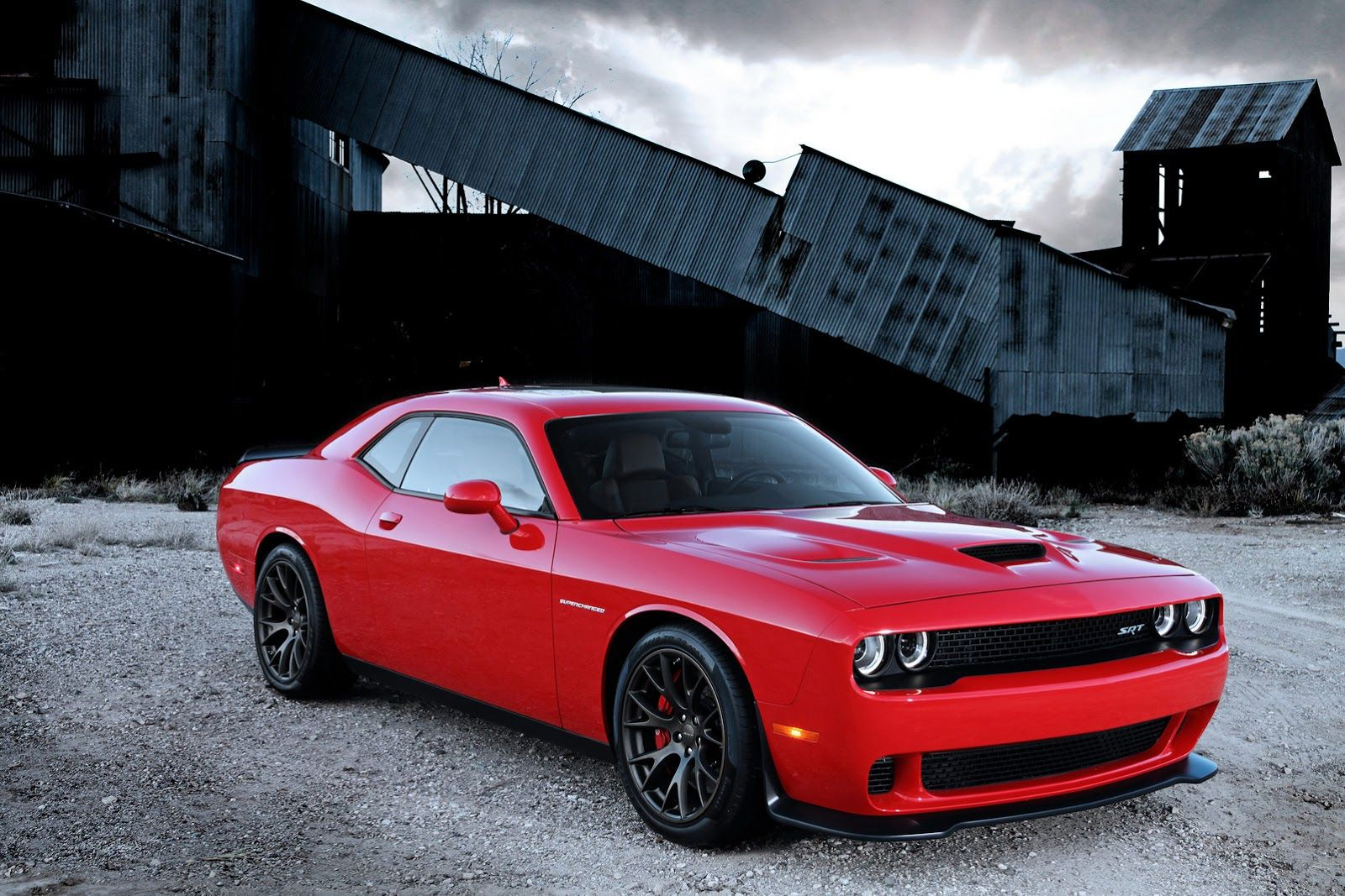 The most powerful muscle car ever with 707hp. Although the engine ...