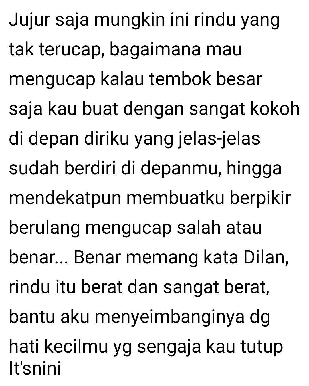 Kau Bukan Dilan Tapi Dae Indonesia Quotes Kata Kata Mutiara