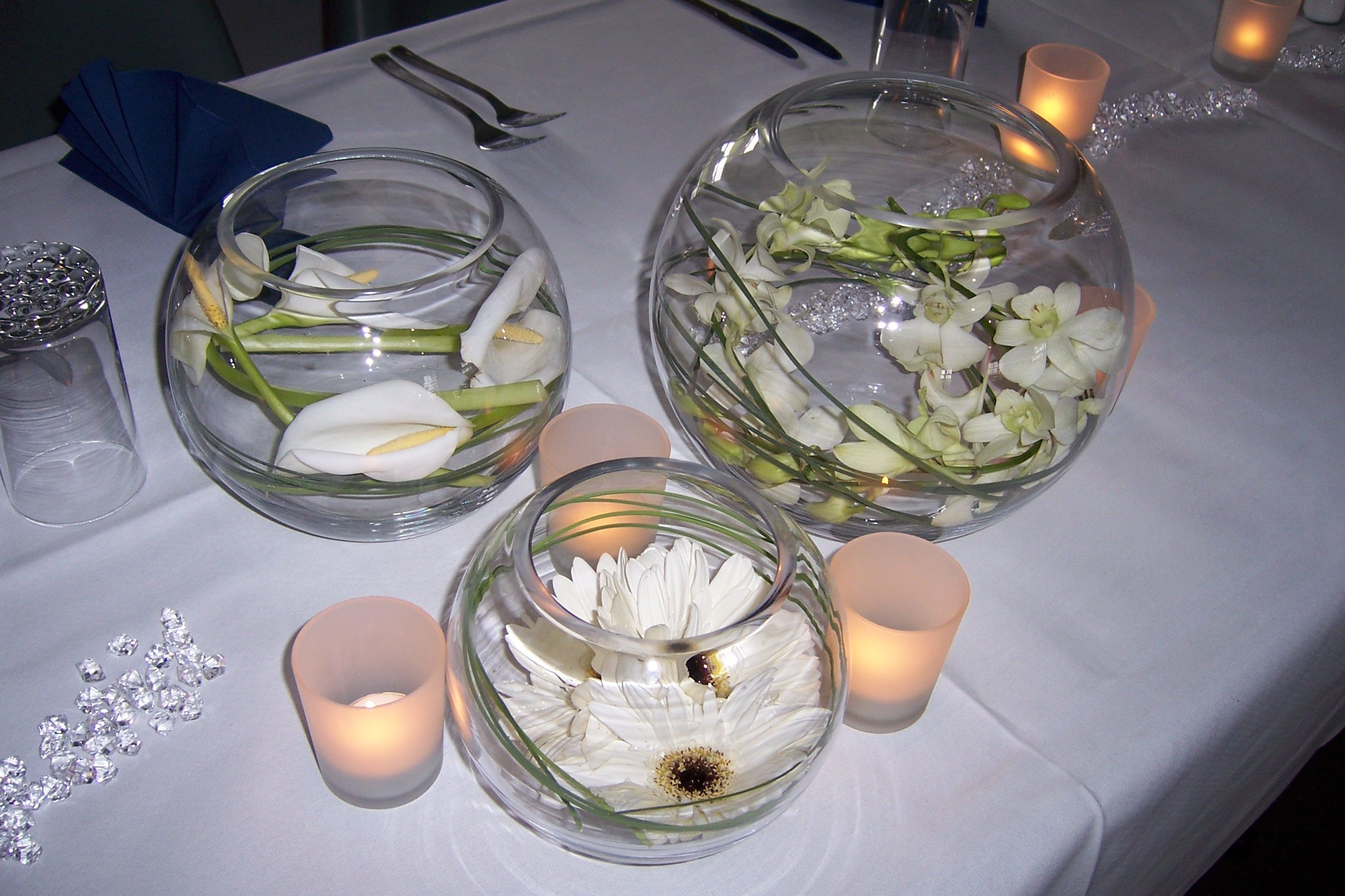 Wedding Decorations Glass Bowls Decoration For Table For Top Pics Photos Table Decoration Ideas