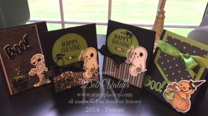 www,stampladee.com  More fun with Ghostly Treats with Deb Valder and Fun Stampers Journey stamps/accessories  #ghostlytreats #pumpkinghostmummy #halloweentreats #boo #spooky #funstampersjourney #debvalder #richardgaray