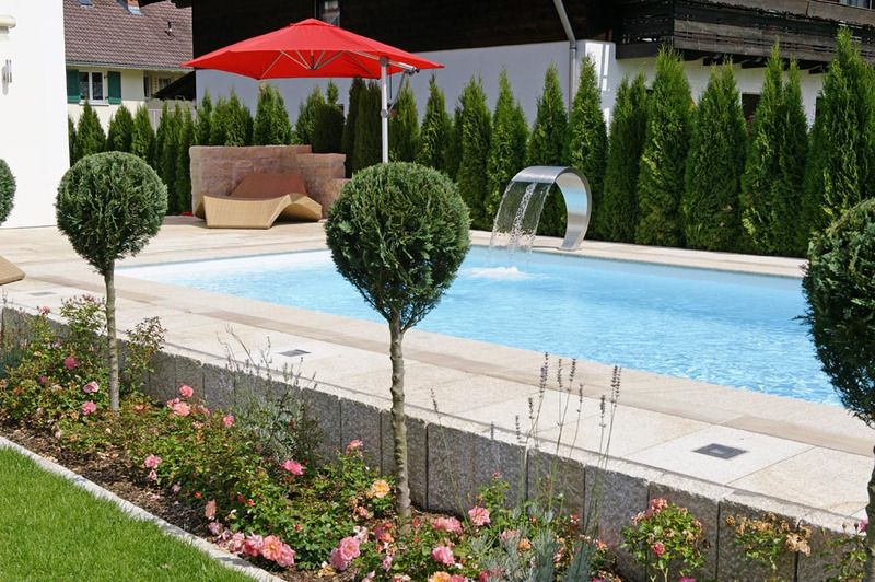 Aussenpool, Outdoorpool Pools \ Spas Pinterest Garten - kosten pool im garten