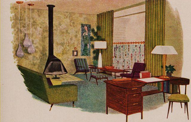 Better homes and gardens 1960s home decor better homes - Better homes and gardens interior designer ...