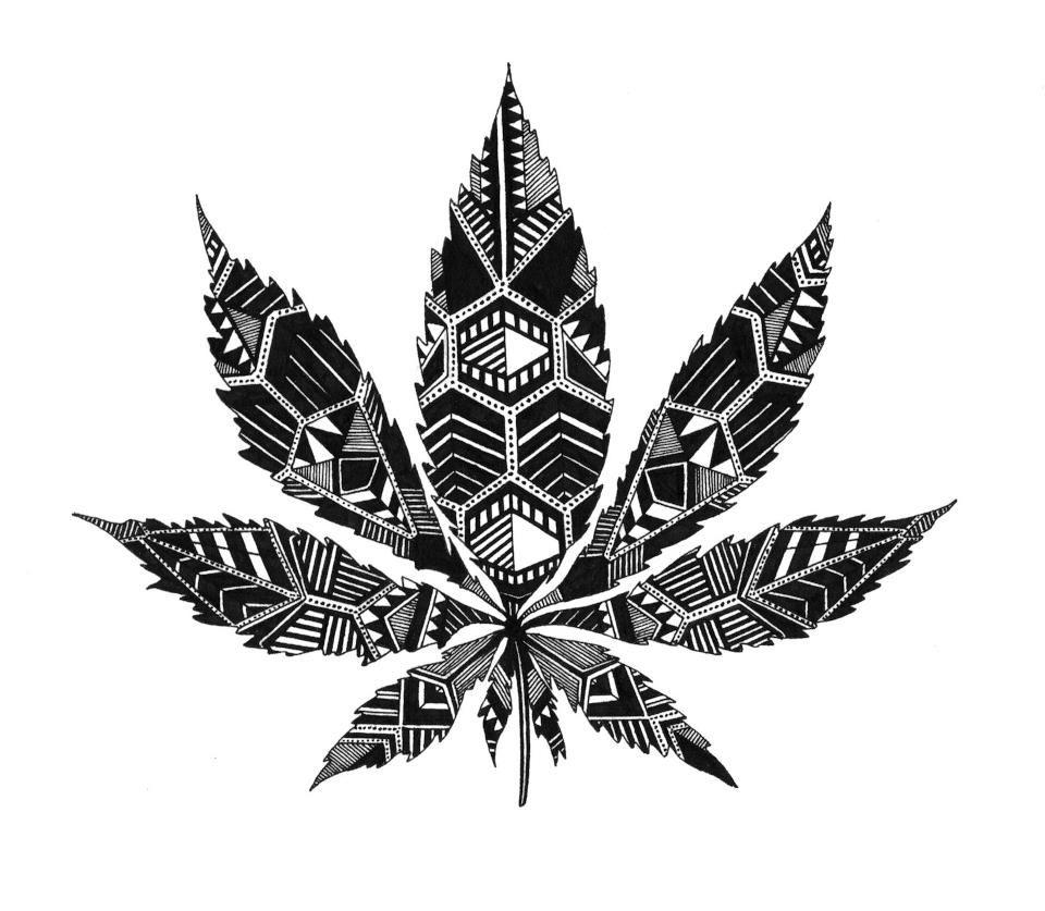 Cool Marijuana Drawings - Google Search