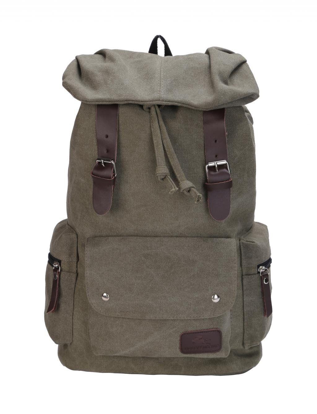 Amazon.com: VOCHIC Korean Style Canvas School Backpack Rucksack Shoulder Laptop Bag, Gift Idea: Electronics