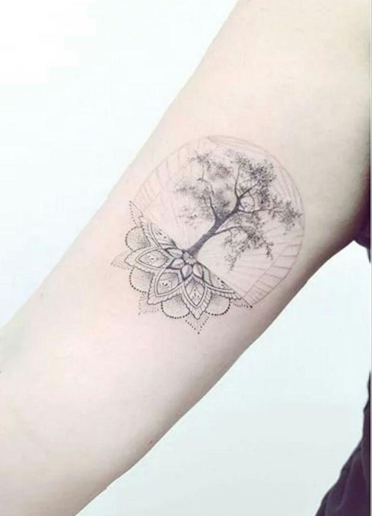 Larkspur Flower Tattoo