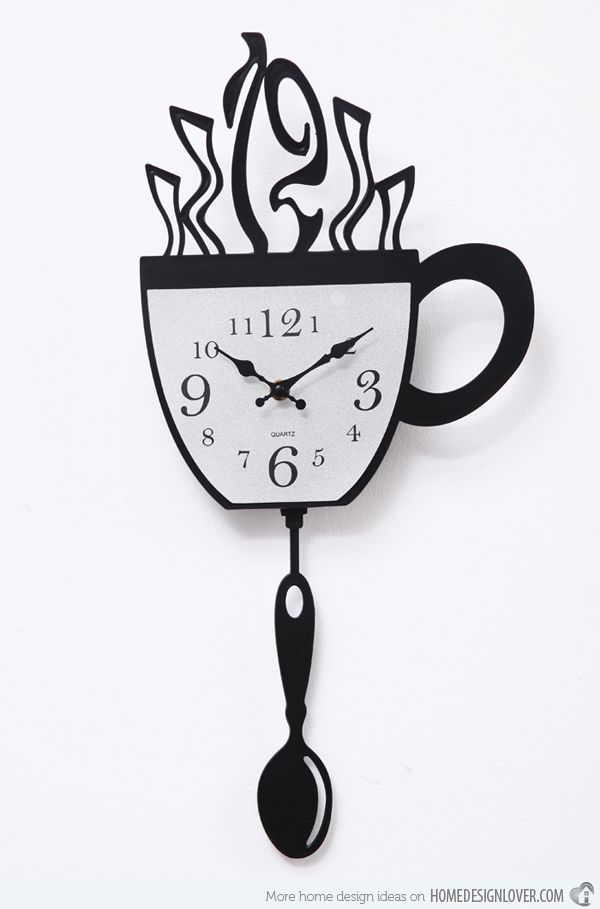 15 Excellent Designs Of Kitchen Wall Clocks