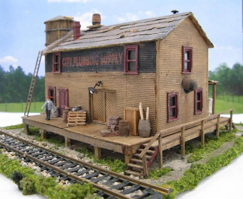 HO Scale for Sale - MODEL TRAIN STRUCTURES | Art (Low Poly