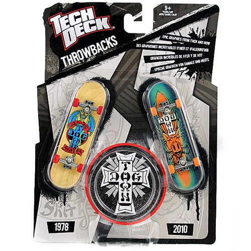 Tech Deck Throwbacks Dog Town With