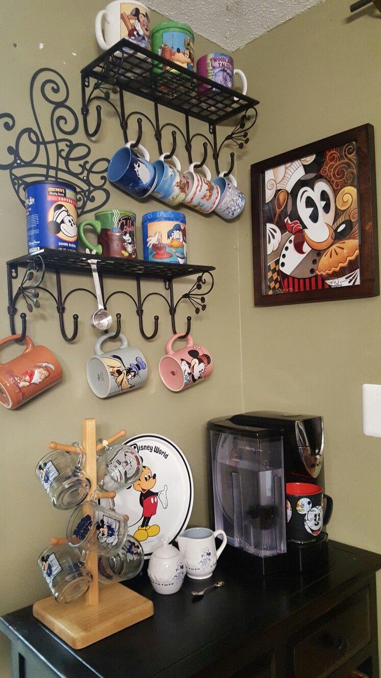 Disney Inspired Coffee Bar In 2019 Home Decor