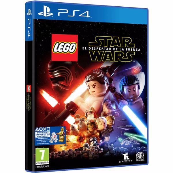 juego ps4 lego star wars episodio VII