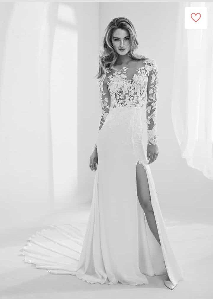 vestido raine de atelier pronovias 2018 | vestidos de novia con