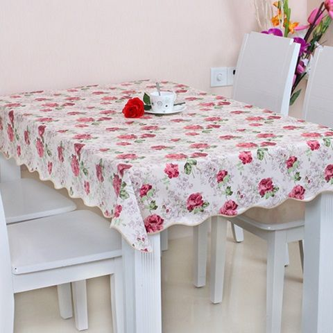 6 Color Free Shipping 137 183cm Pvc Table Cloth Plastic Waterproof