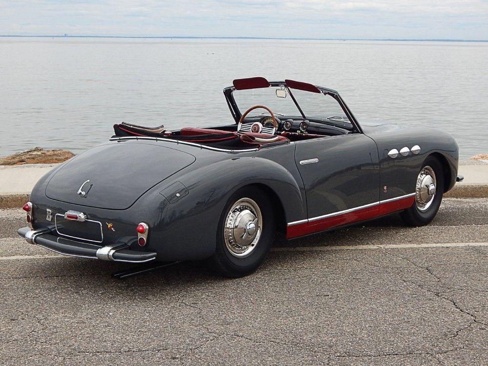 1951 Simca Abarth SC Cabriolet | < 654° https://de.pinterest.com ...