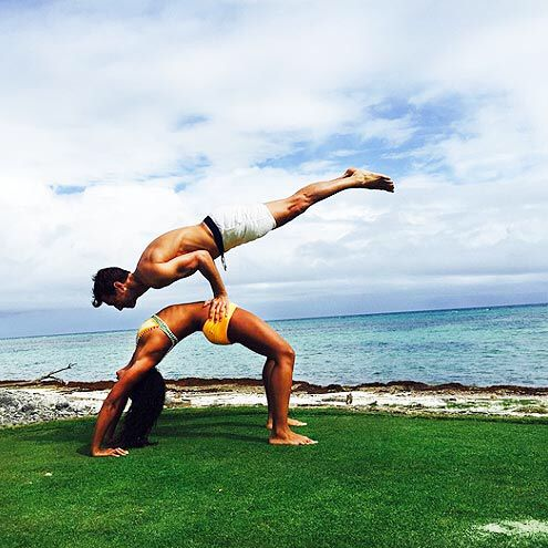 yogacalyx hampton  couples yoga partner yoga poses