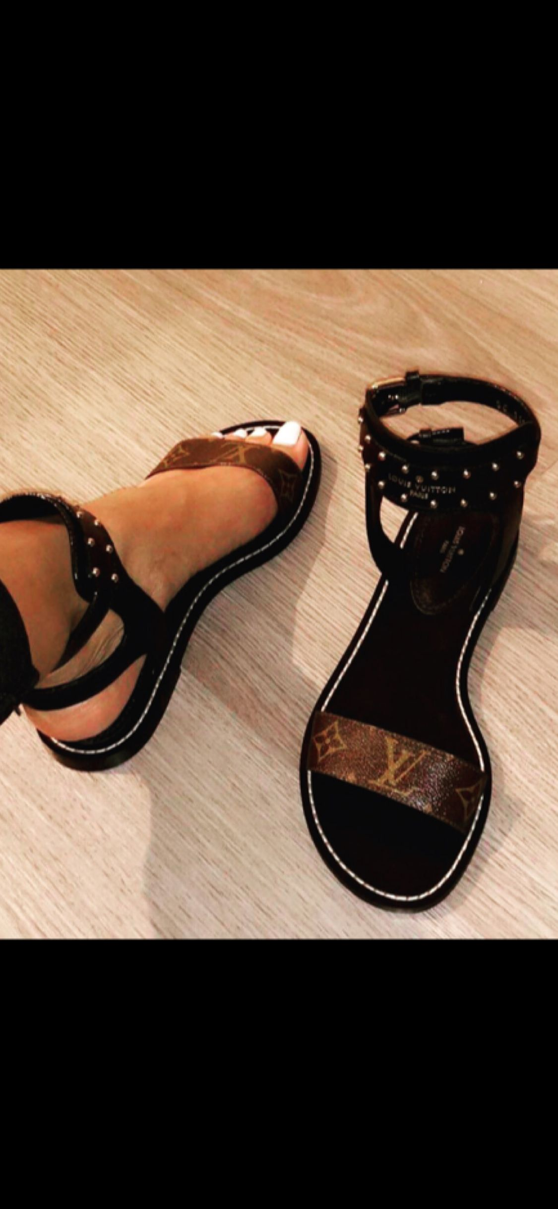 da4b3e16f NOMADS  LVSANDALS  myheartMelts for these Louis Vuitton Nomads ...