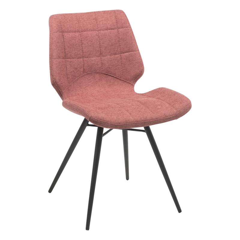 Chaise Design Vintage Rembourree En Tissu Iberis En 2020 Chaise Vintage Chaises Retro Chaise Design