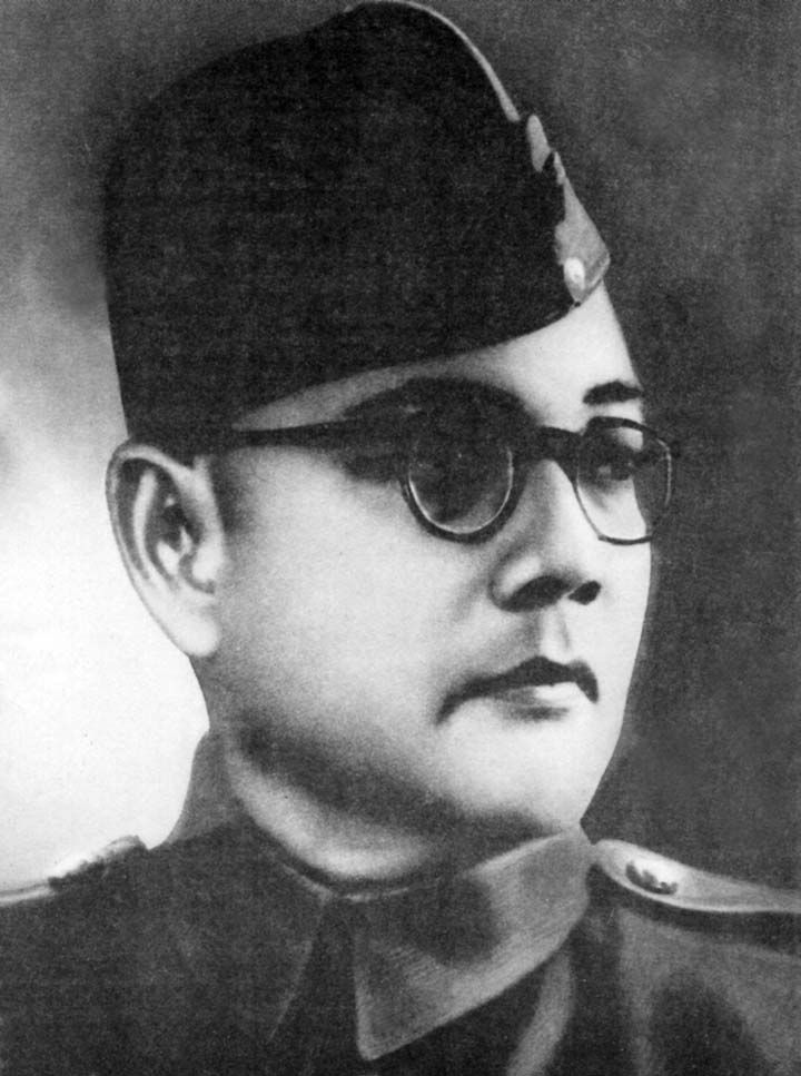 Subhas chandra bose, the most prominent leaders of Indian