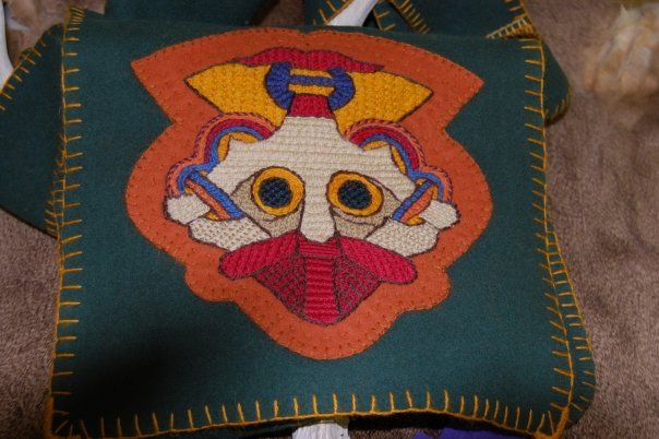 Beautiful embroidery by Amber