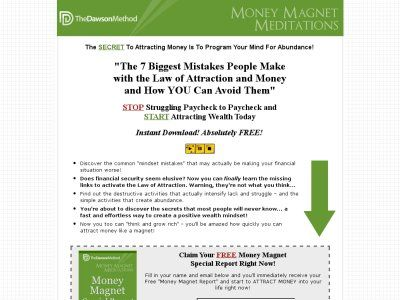 Money Magnet Meditations - Law Of Wealth Attraction Market
