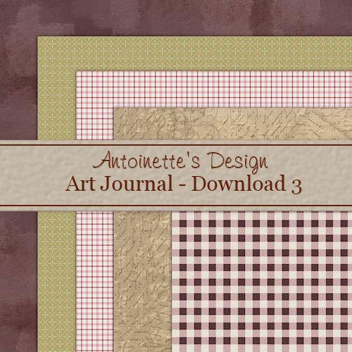 Freebie Art Journal Kit 3